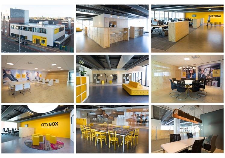 details exterieur en interieur Servicecentrum City Box door Babette Porcelijn