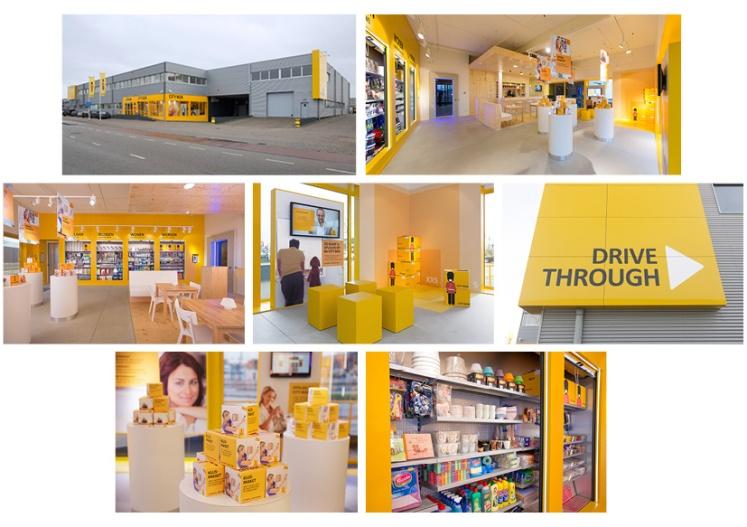Rebranding City Box -details vestiging Den Bosch - door Babette Porcelijn