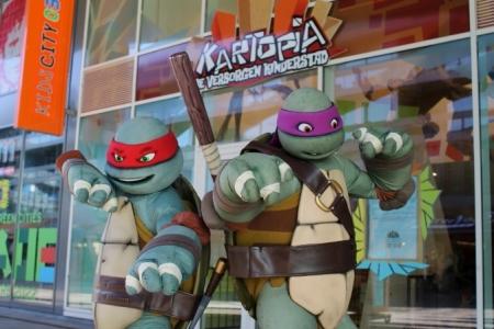 De Turtles komen naar Citymall Almere