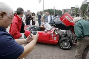 De mooiste oldtimers tijdens de Midland Classic in Citymall Almere